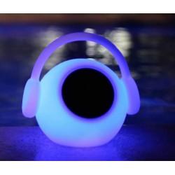 MANTRA LED light with speaker Wazowsky, ref.3696