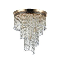 Maytoni chandelier Cascade DIA522-CL-07-G