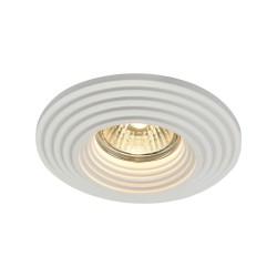 Maytoni recessed spotlight Gyps, DL004-1-01-W