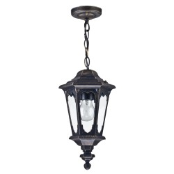 Maytoni outdoor suspension lamp Oxford, S101-10-41-R
