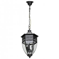 CHIARO outdoor suspension light, lantern Street 801010403
