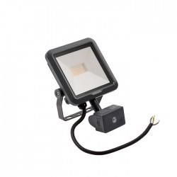 Philips Ledinaire LED floodlight with sensor BVP105 LED9/840 PSU VWB100 MDU