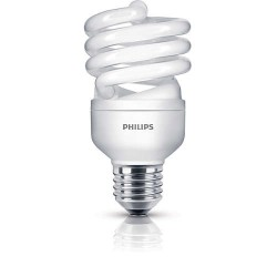 Philips economy Twister 20W WW  E27 220-240V 1PF/6