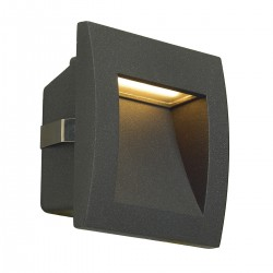SLV outdoor  recessed LED wall luminaire DOWNUNDER OUT S, 233605