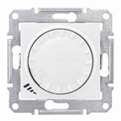 Universal rotary pushbutton dimmer
